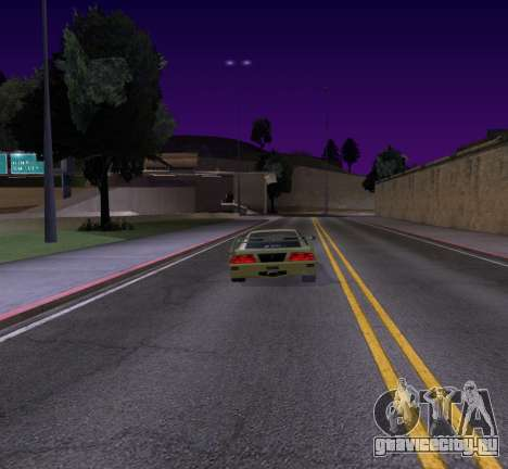 Need for Speed Cam Shake для GTA San Andreas