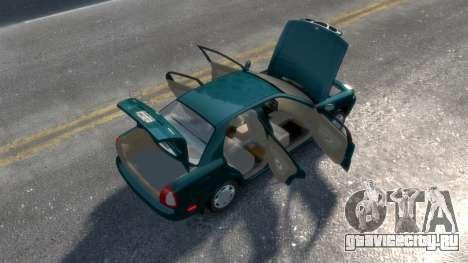 Daewoo Nubira I Sedan SX USA 1999 для GTA 4 вид сбоку