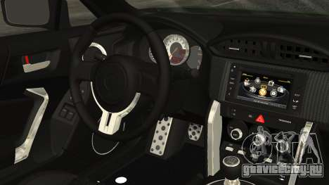 Toyota GT86 2012 для GTA San Andreas вид справа