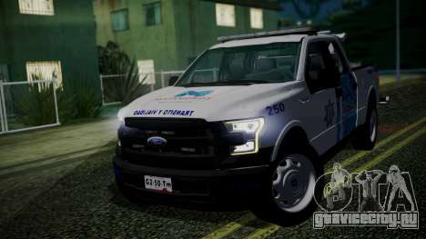 Ford F-150 2015 Towtruck для GTA San Andreas