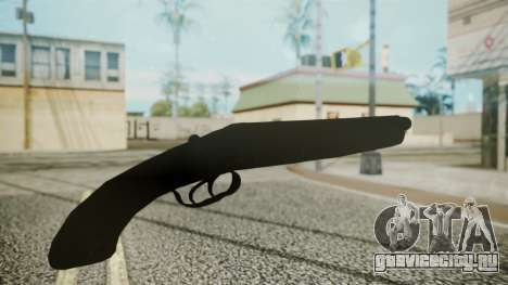 Sawnoff Shotgun (Iron Version) для GTA San Andreas третий скриншот