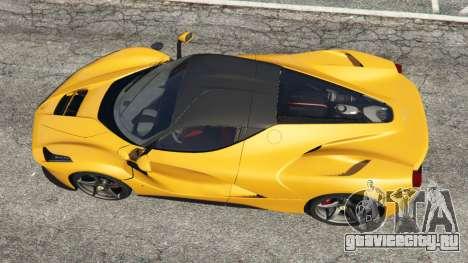 Ferrari LaFerrari 2013 v3.0 для GTA 5 вид сзади
