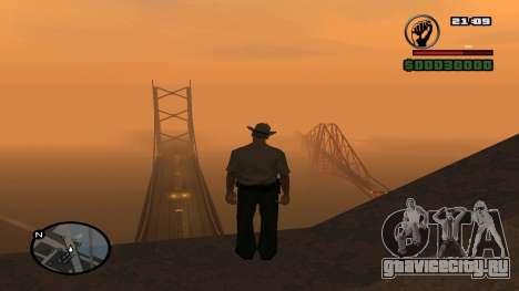 Длинная полоска HP до 160 HP для GTA San Andreas