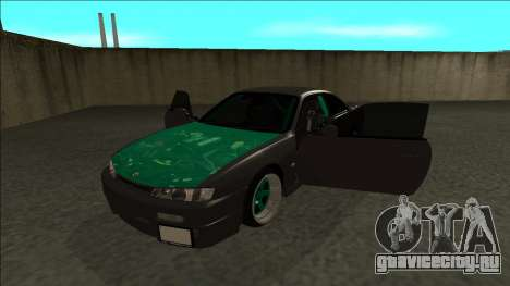 Nissan 200sx Drift для GTA San Andreas вид сзади