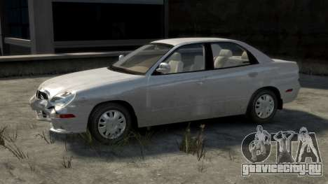 Daewoo Nubira II Sedan SX USA 2000 для GTA 4 салон