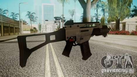 G36C Silver для GTA San Andreas второй скриншот