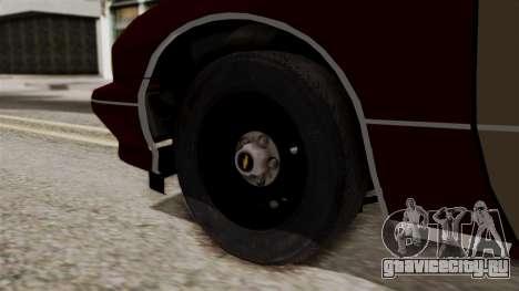 Chevy Caprice Station Wagon 1993- 1996 SAFD для GTA San Andreas вид сзади слева