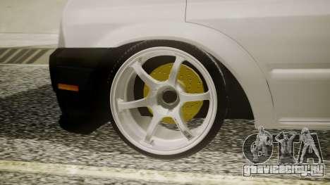 Ford Transit Hasta Ticariii для GTA San Andreas вид сзади слева