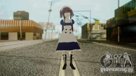 Mey-Rin [Kuroshitsuji] для GTA San Andreas второй скриншот