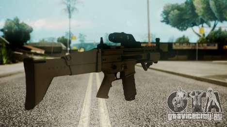 SCAR-L Custom для GTA San Andreas второй скриншот
