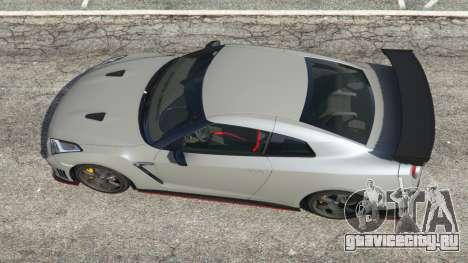 Nissan GT-R Nismo 2015 v1.1 для GTA 5 вид сзади