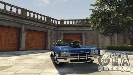 Chevrolet Impala 1972 для GTA 5 вид справа