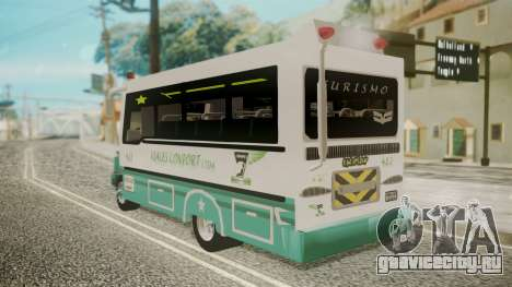 Chevrolet B70 Bus Colombia для GTA San Andreas вид слева