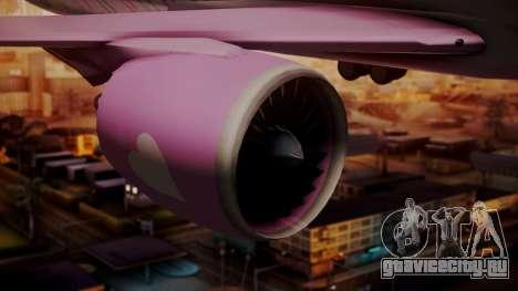 Boeing 787-9 LoveLive Livery для GTA San Andreas вид справа