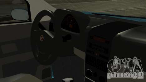 Fiat Albea Sole для GTA San Andreas вид справа