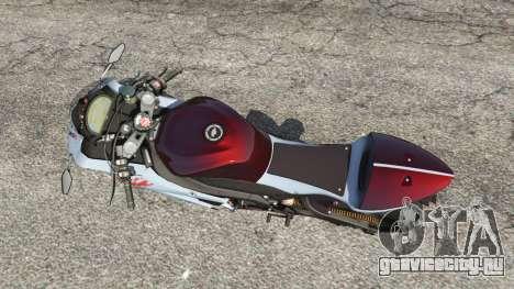 Kawasaki Ninja ZX-6R [Beta] для GTA 5 вид сзади