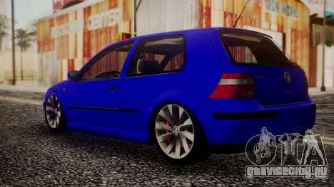 Volkswagen Golf 4 для GTA San Andreas вид слева