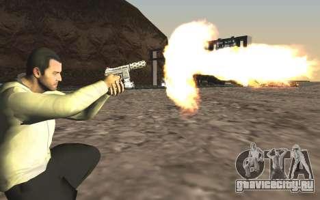 GTA 5 Tec-9 для GTA San Andreas пятый скриншот