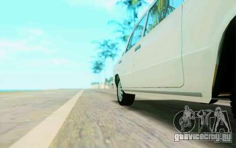 ВАЗ 2101 Stock для GTA San Andreas вид сбоку