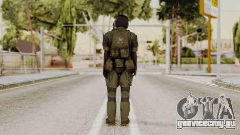 MGSV Ground Zero MSF Soldier для GTA San Andreas третий скриншот