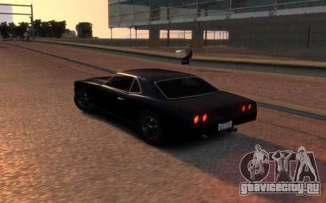 Sabre Vigero Muscle Car для GTA 4 вид сзади слева