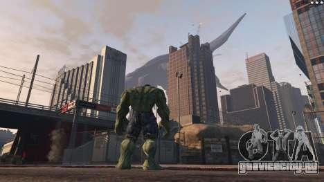 The Hulk для GTA 5