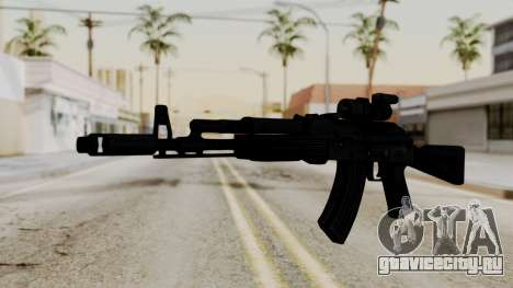 AK-103 with Rifle Dot Aimpoint M2 для GTA San Andreas