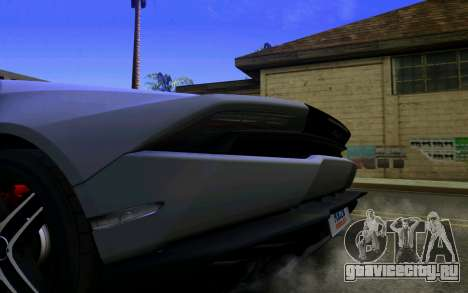 Lamborghini Huracan LP610 VELLANO для GTA San Andreas вид справа