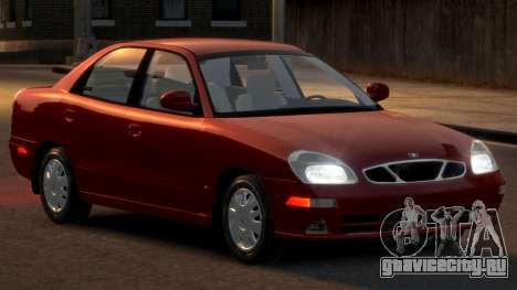 Daewoo Nubira II Sedan SX USA 2000 для GTA 4