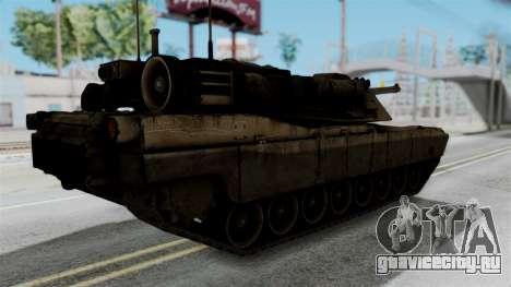 M1A2 Abrams для GTA San Andreas вид слева