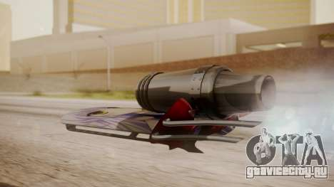 Hovercraft Anime для GTA San Andreas вид слева