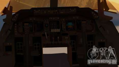 Boeing 747-100 United Airlines Friend Ship для GTA San Andreas вид сзади