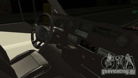 Ford Transit Hasta Ticariii для GTA San Andreas вид справа