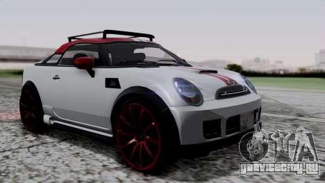 Mini Cooper S Weeny Issi для GTA San Andreas