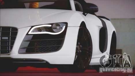 Audi R8 GT 2012 Sport Tuning V 1.0 для GTA San Andreas вид сбоку