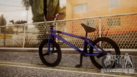 Nueva BMX для GTA San Andreas вид слева