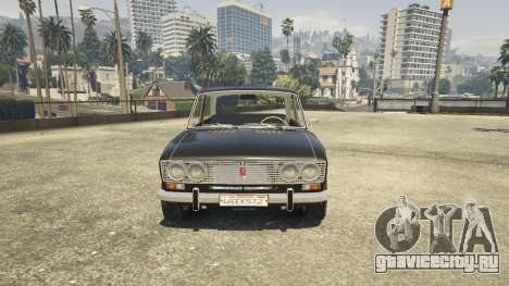 ВАЗ 2103 для GTA 5 вид сзади справа