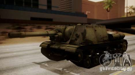 ISU-152 from World of Tanks для GTA San Andreas