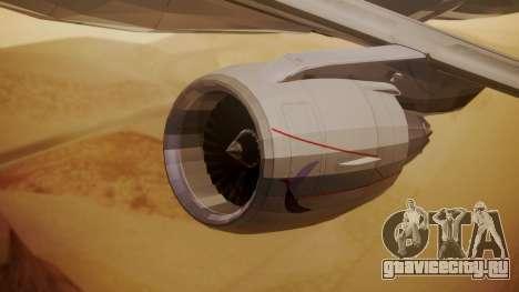 Embraer 170-100 Air Costa для GTA San Andreas вид справа