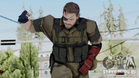 MGSV Phantom Pain Snake (Olive Drab Version) для GTA San Andreas