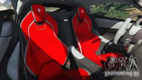 Ferrari LaFerrari 2013 v3.0 для GTA 5 вид спереди справа