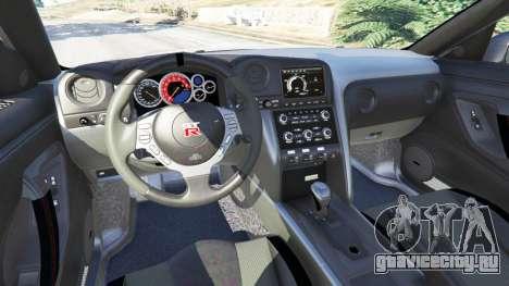 Nissan GT-R (R35) [RocketBunny] для GTA 5 вид спереди справа