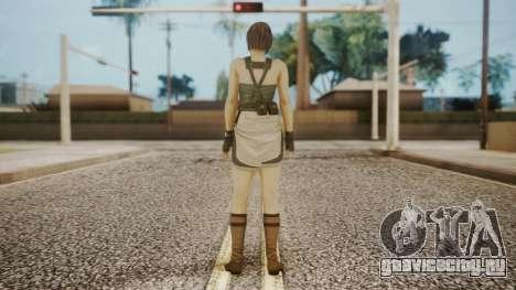 Resident Evil Remake HD - Jill Valentine для GTA San Andreas третий скриншот