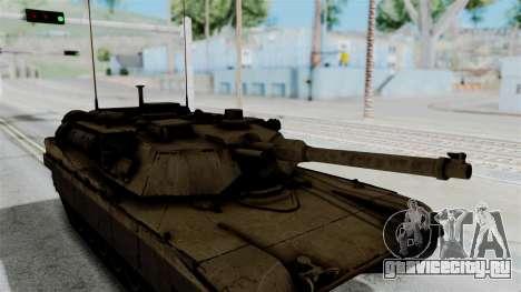 M1A2 Abrams для GTA San Andreas вид справа