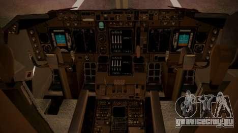 Boeing 747SP ER Airways для GTA San Andreas вид сзади
