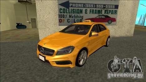 Mercedes-Benz A45 AMG Taxi 2012 для GTA San Andreas