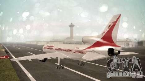 Lockheed L-1011 Air India для GTA San Andreas вид слева