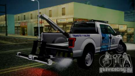 Ford F-150 2015 Towtruck для GTA San Andreas вид слева