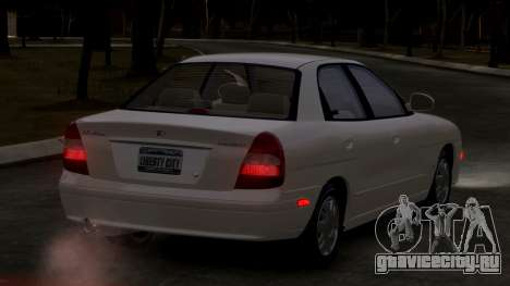 Daewoo Nubira II Sedan SX USA 2000 для GTA 4 вид справа