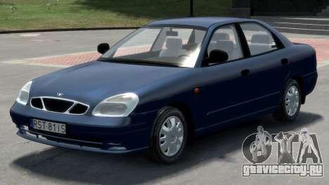 Daewoo Nubira II Sedan S PL 2000 для GTA 4